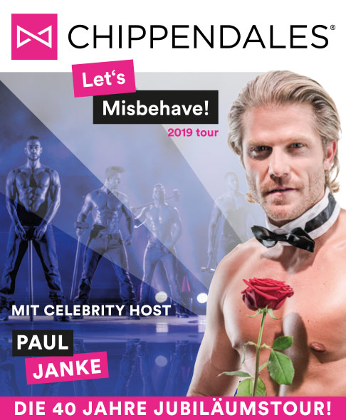 Chippendales - Let's Misbehave! Tour 2019