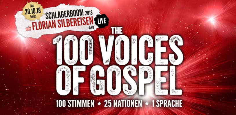 """The 100 Voices of Gospel"" bei Florian Silbereisen!"